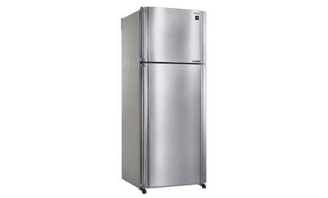 SHARP 2 DOOR FRIDGE 500L SILVER SJP50MS