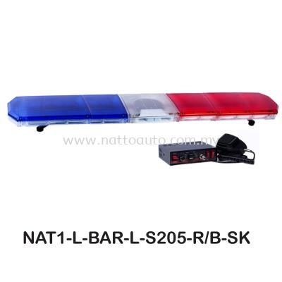 LIGHT BAR RED&BLUE S205- 6Feet