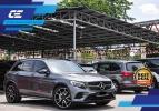 MERCEDES BENZ GLC43 3.0 V6 AMG MATIC 2018 GLC43 MERCEDES