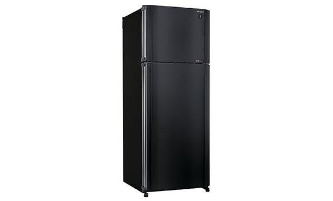 SHARP 2 DOOR FRIDGE 550L BLACK SJP55MK