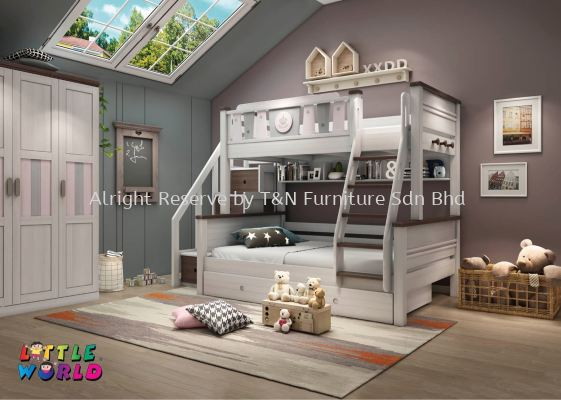Little Queen Bunk Bed - JYM 3005