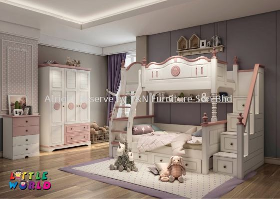 Little Princess Bunk Bed - JYM 1001