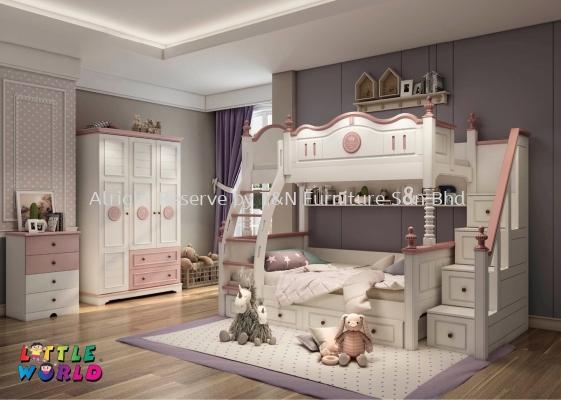 Little Princess Bunk Bed - JYM 1001