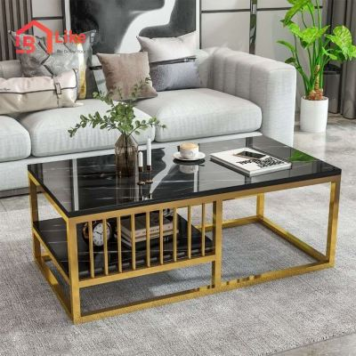 Divyenne Marble Texture Coffee Table