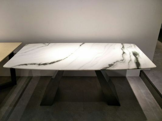 Modern Dining Set - Natural Marble  Dining Table (3)