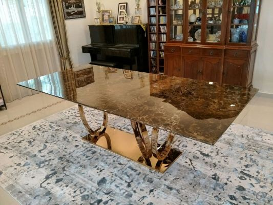 Modern Marble Dining  Table Design