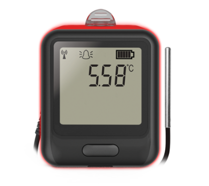 LASCAR EL-WIFI-TPX+ Wifi-Connected High-Accuracy Temperature Data Logger with Alarm Warning Light