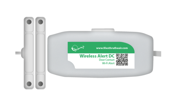 LASCAR Wireless Alert DC Door contact monitor with email alerts