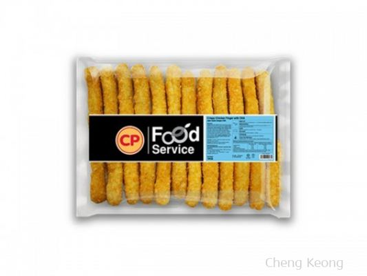 CP CRISPY CHICKEN FINGER WITH DHA 1KG