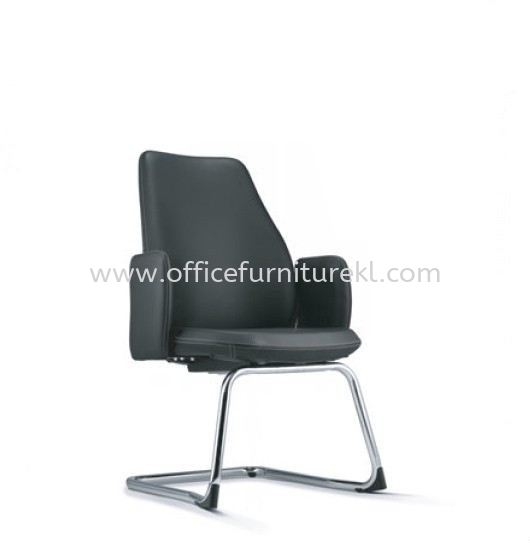 EVE DIRECTOR VISITOR LEATHER OFFICE CHAIR AEV 6413L-CA  - Office Furniture Store | Director Office Chair Puncak Jalil | Director Office Chair Subang Jaya | Director Office Chair Subang ss15