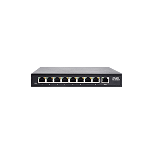 RG-S1809-P. Ruijie 8-Port 10/100Mbps Unmanaged POE Switch. #AIASIA Connect