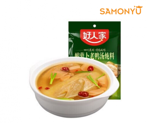 ���ܲ���Ѽ������ Seasoning for Duck Soup Stewed with Sour Radish