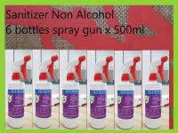 Sanitizer Non-alcohol with spray gun 6 bottles