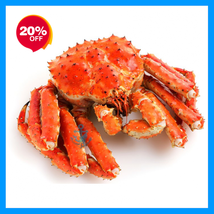 Alaskan Red King Crab (Cooked)