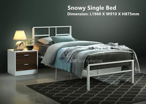 Snowy (7002) 3_ Metal Bed