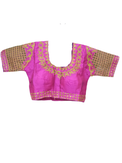 READYMADE EMBROIDED SAREE BLOUSE