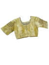 READYMADE EMBROIDED SAREE BLOUSE EMBROIDED BLOUSE BLOUSE