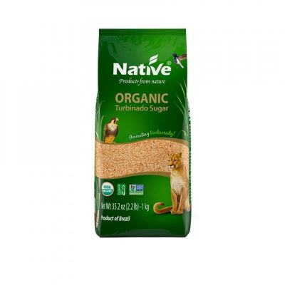 NATIVE-DEMERARA SUGAR-ORGANIC-1 KG