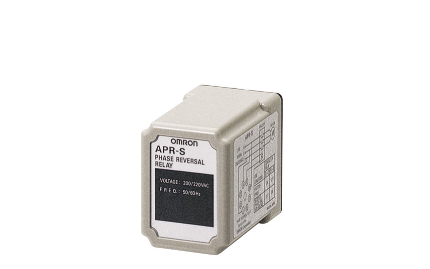 Omron APR-S Uses Voltage Detection to Determine Reverse Revolution of Three-phase Motor