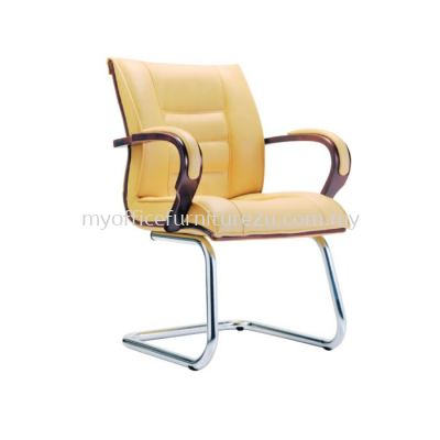 V2154S Baas Visitor Chair Pu Leather