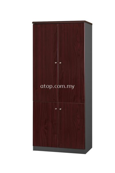 LX 668 WOOD DOOR HIGH CABINET