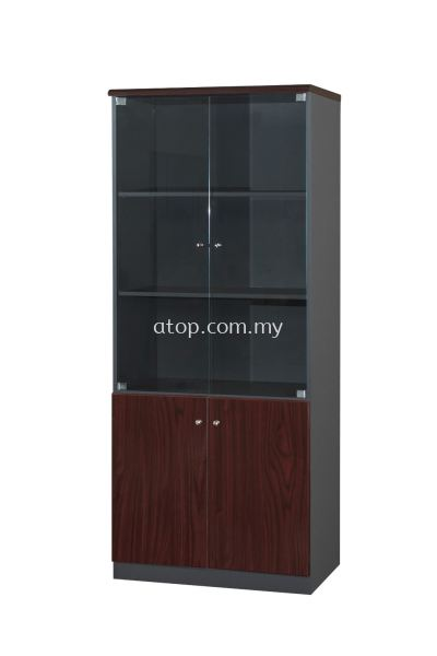 LX 667 GLASS DOOR HIGH CABINET