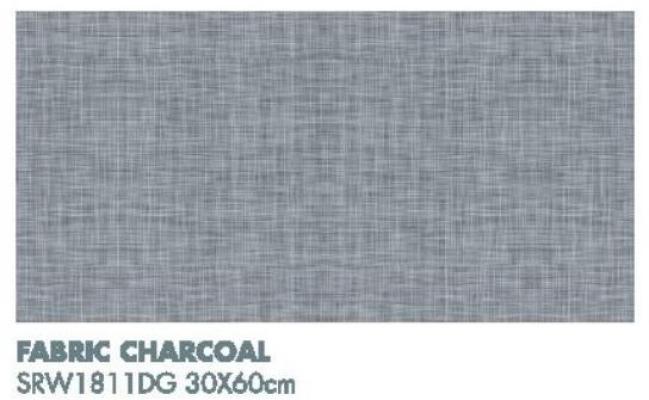 Bathroom DREAMY Fabric Charcoal SRW1811DG