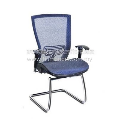 ADORA FULL MESH ERGONOMIC VISITOR CHAIR WITH CHROME CANTILEVER BASE ABV-D3