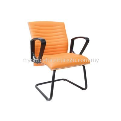 V2384S Homey Visitor Chair Pu Leather