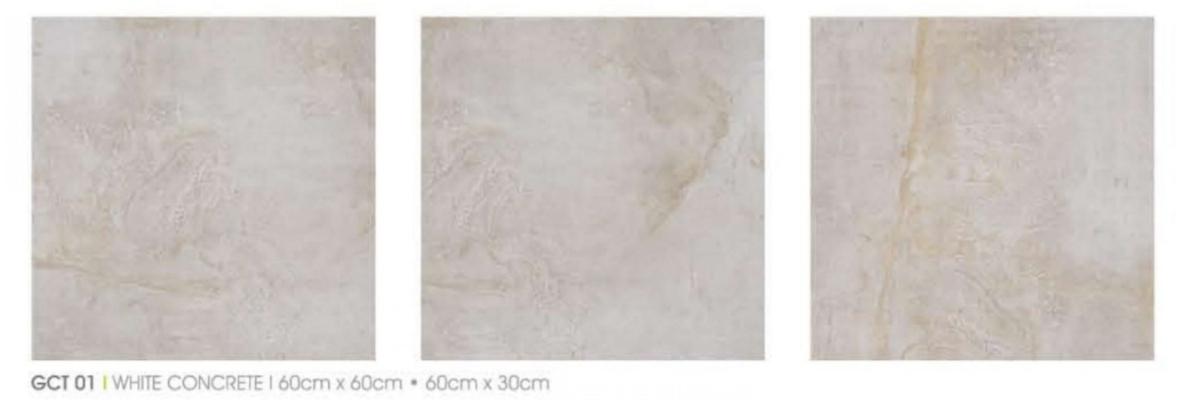 WHITE CONCRETE GCT01 MATT