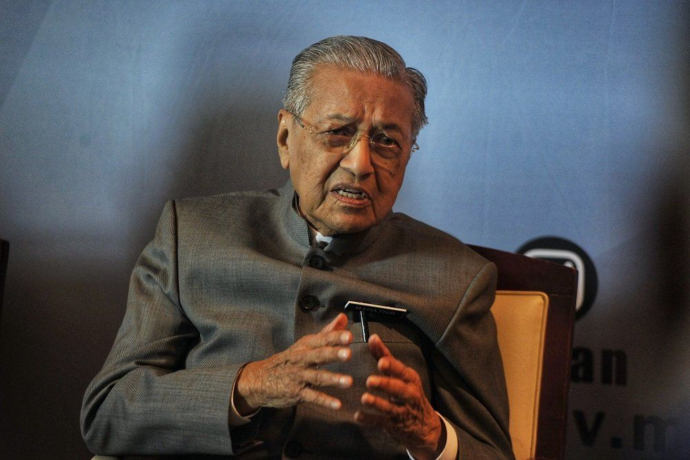 Perikatan my idea? I would have remained PM if true, Dr Mahathir tells Azmin