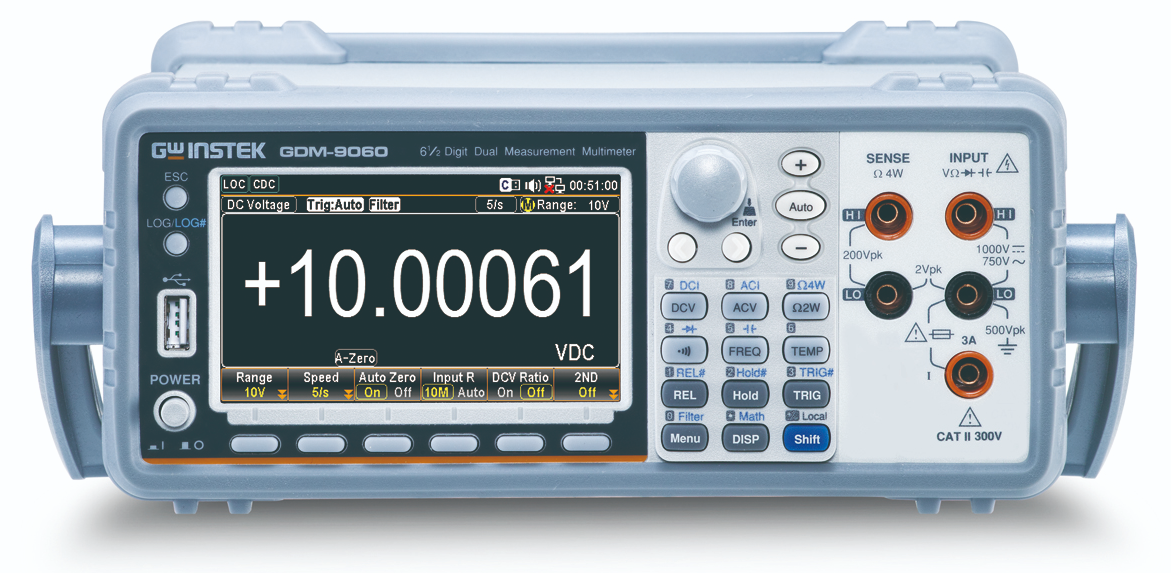 GW INSTEK GDM-906X Dual Measurement Multimeter