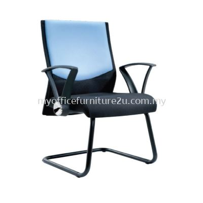 V2584S Maxim Visitor Chair Pu Leather