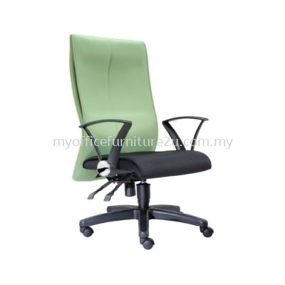 D120H Rise Director Chair Pu Leather