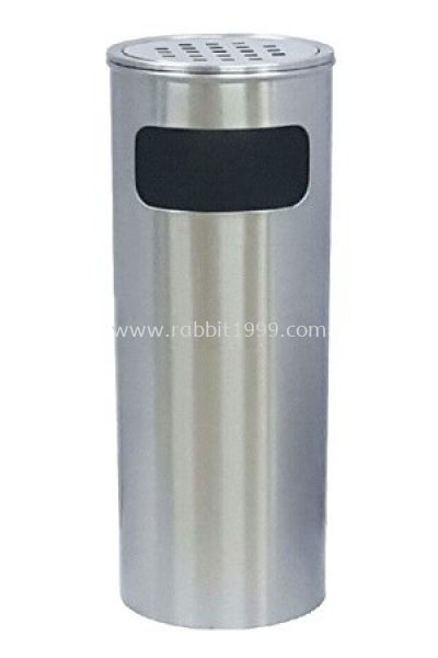 STAINLESS STEEL ASHTRAY TOP BIN (RAB-066/A , RAB-067/A)