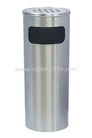 STAINLESS STEEL ASHTRAY TOP BIN - RAB-066/A , RAB-067/A RABBIT STAINLESS STEEL ASHTRAY BIN