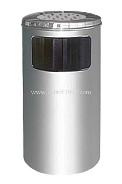 STAINLESS STEEL ASHTRAY TOP BIN - RAB-060/A
