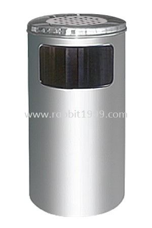 STAINLESS STEEL ASHTRAY TOP BIN - RAB-060/A RABBIT STAINLESS STEEL ASHTRAY BIN