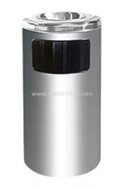STAINLESS STEEL ASHTRAY TOP BIN - RAB-040/A