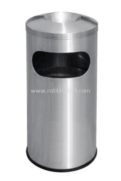 STAINLESS STEEL ASHTRAY TOP BIN - RAB-050/A