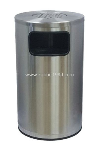 STAINLESS STEEL ASHTRAY TOP BIN (RAB-019/A)