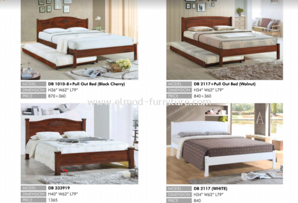 Bed Wooden Series 1