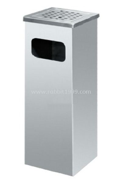 STAINLESS STEEL ASHTRAY TOP BIN - SQB-003/A , SQB-004/A , SQB-007/A , SQB-008/A