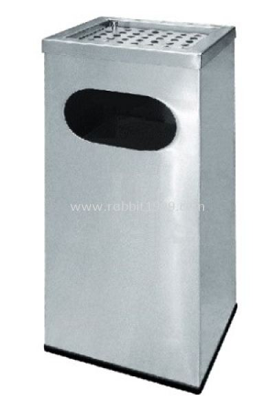 STAINLESS STEEL ASHTRAY TOP BIN (RAS-122/A)