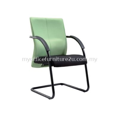 V124S Rise Visitor Chair Pu Leather