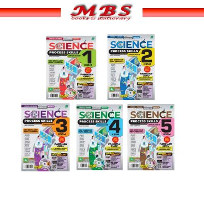 SCIENCE PROCESS SKILLS KSSM 2021(FORM 1-5)~ready stock for student copy only