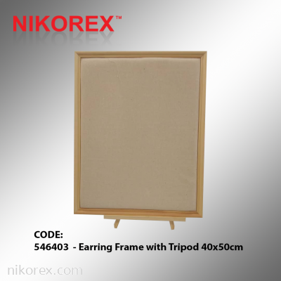 546403  - Earring Frame with Tripod 40x50cm