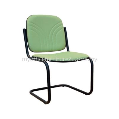 V1005S Vari Without Arm Visitor Chair Pu Leather