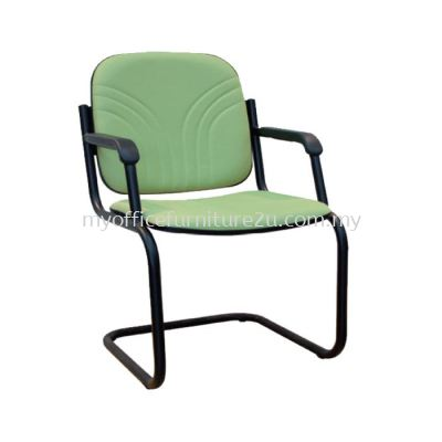 V1006S Vari With Arm Visitor Chair Pu Leather