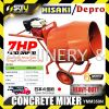 HISAKI / DEPRO YMM350N Portable 3T Mini Concrete Mixer With 7.0HP Petrol Engine (Japan Technology)  Concrete Mixer Construction Machine